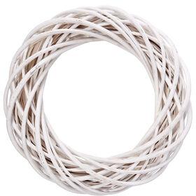 WINTERGREEN Kranz  Ø45cm weiß