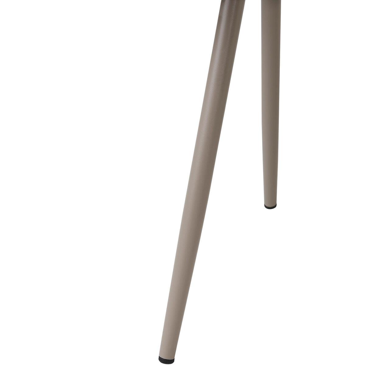 CAMPUS Beistelltisch aus Stahl, taupe