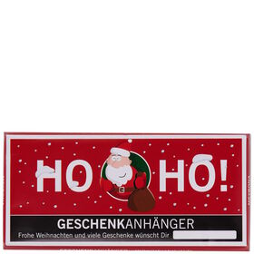 """X-MAS Schokolade """"Geschenkanhänger"""" 100g"""