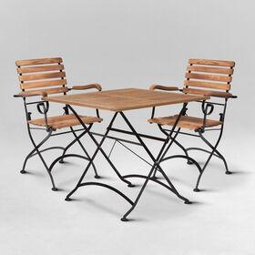 PARKLIFE Sitzgruppe für 2 Pers., schwarz