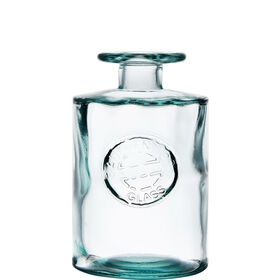 AUTHENTIC Vase Grünglas 16cm Logo