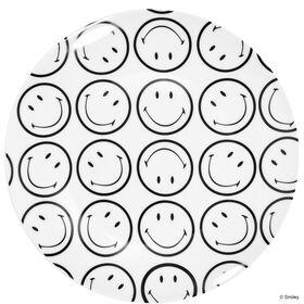 SMILEY Teller allover s/w 23,50 cm