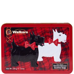 WALKERS Shortbread Scottie Dog Dose 220g