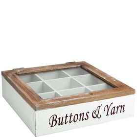 """CAMPAGNE Box  """"Buttons & Yarn"""""""