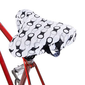 I LOVE MY BIKE Sattelbezug Fahrradkette