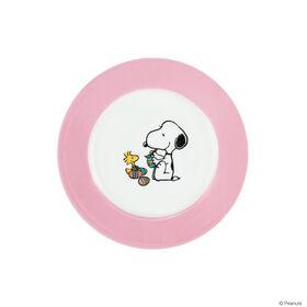 PEANUTS Teller Snoopy Ostern rosa
