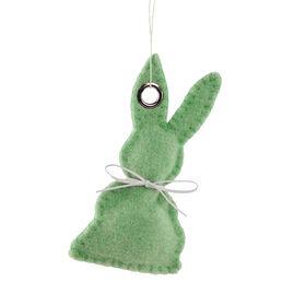 EASTER Anhänger Filz Hase, grün