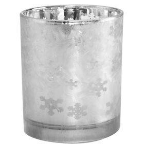 DELIGHT Teelichthalter Eiskristall 8cm