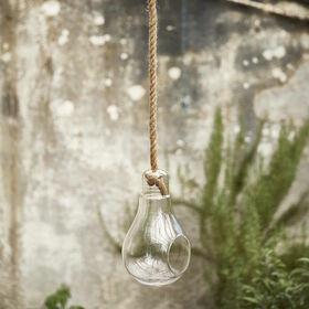 BULB Deko Glühbirne aus Glas 30cm