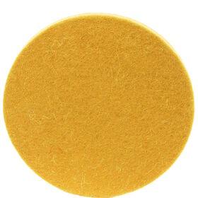 FELTO Wollfilz-Untersetzer gelb