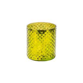 DELIGHT Teelichthalter Glas 8cm, grün