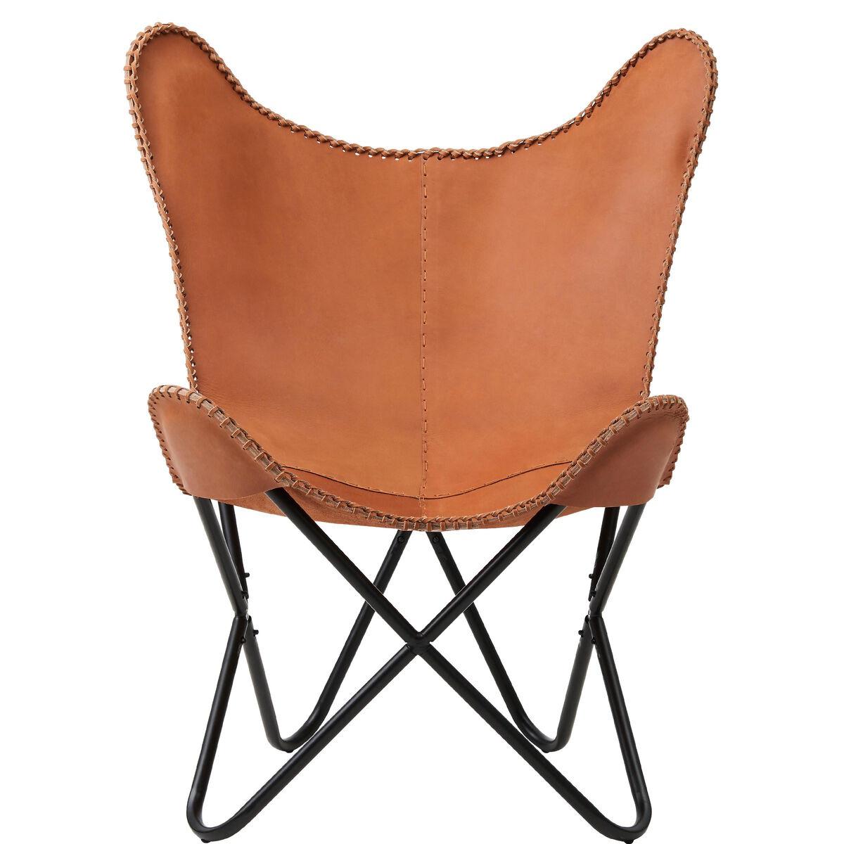 EL GAUCHO Butterfly-Sessel Echtleder