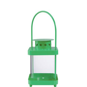 LIGHTHOUSE Laterne 17cm, grün
