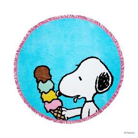 PEANUTS Handtuch rund Snoopy 165 cm