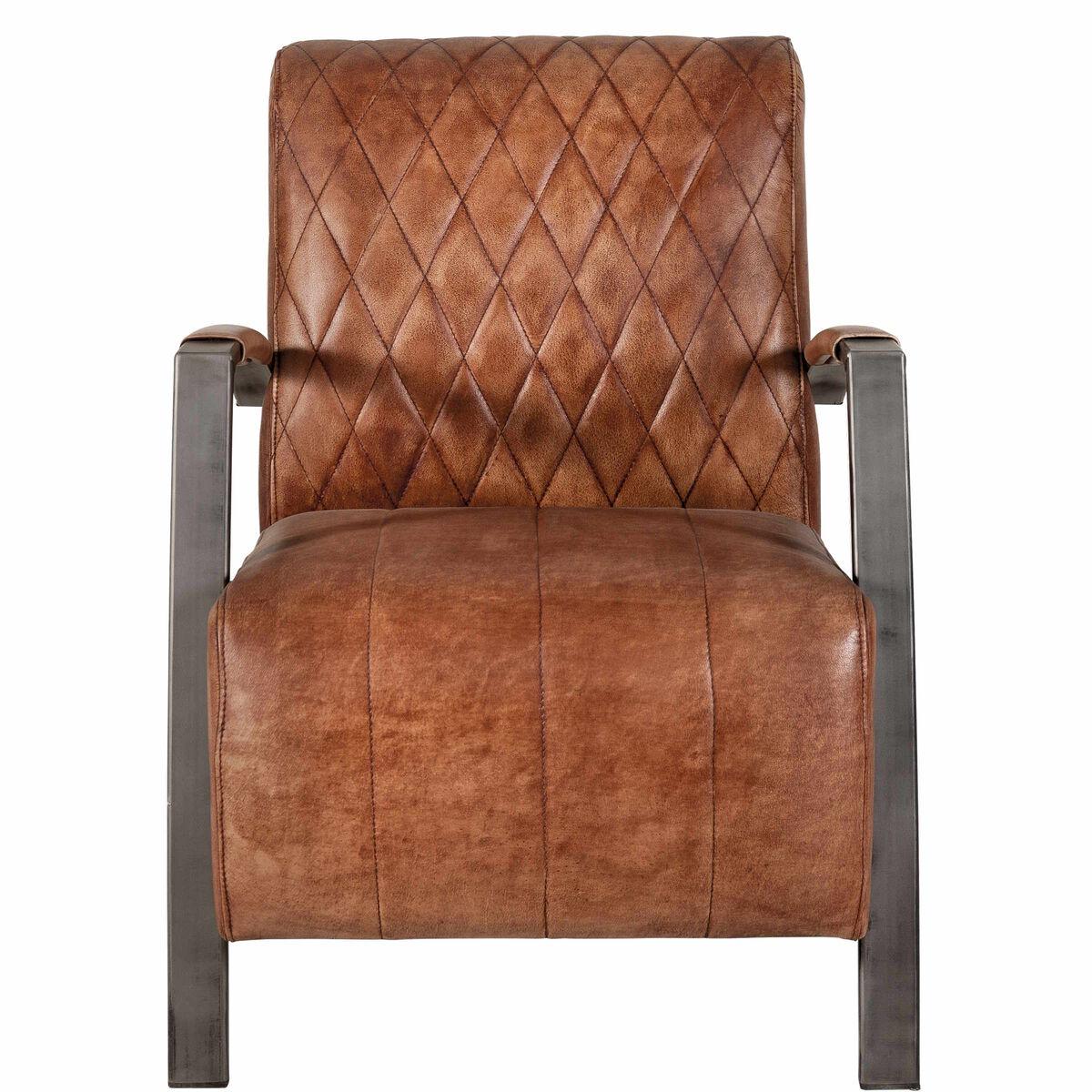 clubman sessel aus echtleder butlers. Black Bedroom Furniture Sets. Home Design Ideas