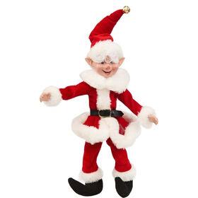 X-MAS Weihnachtself Dekoration 44cm