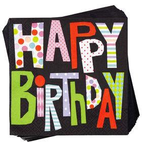APRÈS Papierserviette Happy Birthday