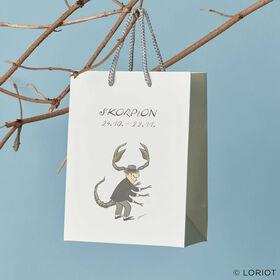 LORIOT Geschenktasche Skorpion
