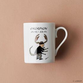 LORIOT Kaffeetasse Skorpion