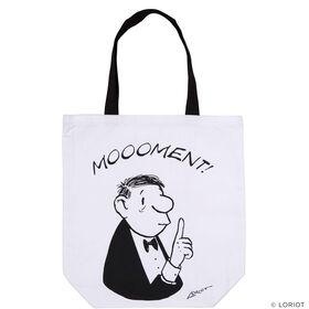 LORIOT Einkaufstasche Moooment!