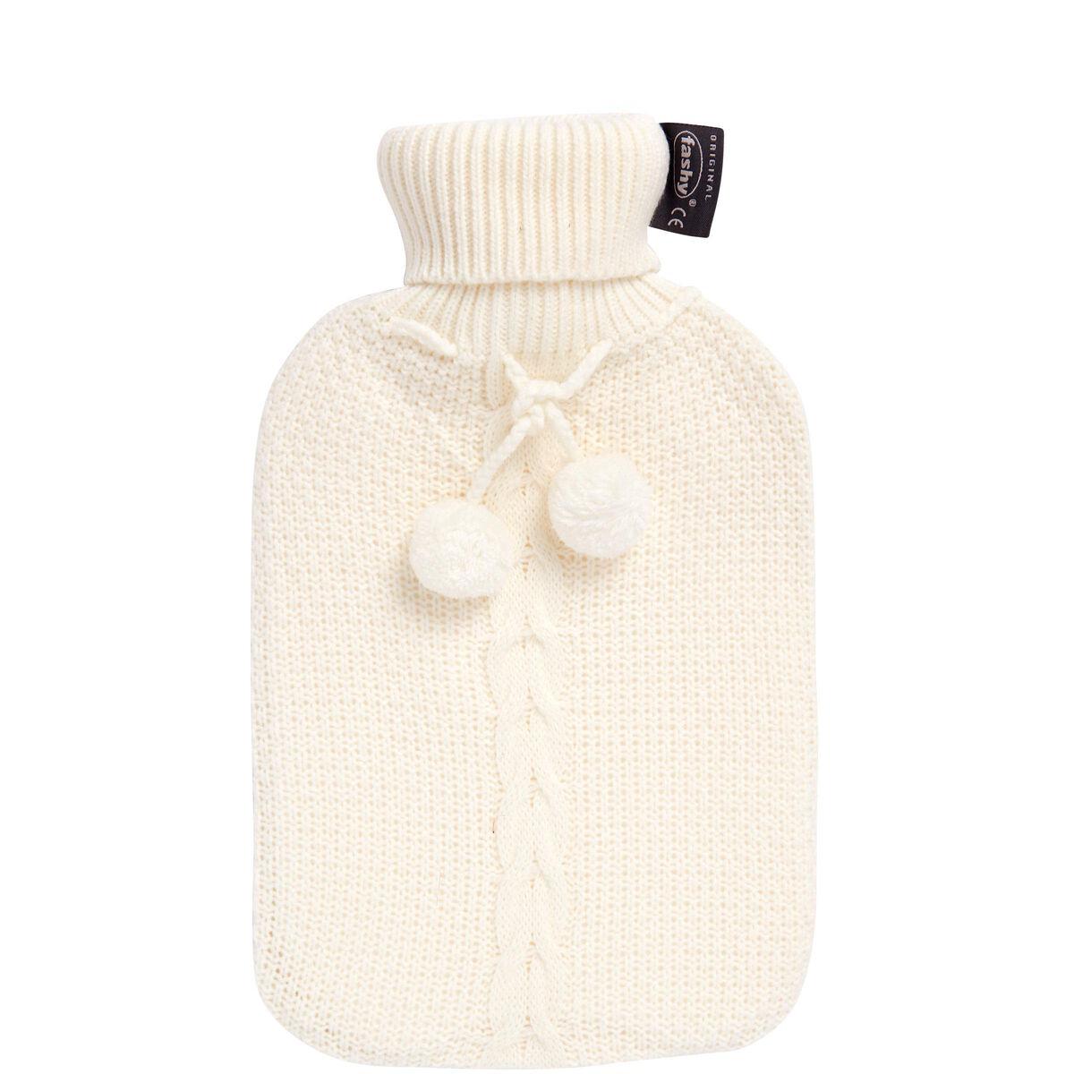SOUL MAN Wärmflasche mit Strickbezug 2l