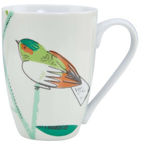 SUMMER BIRDS Tasse m. zwei Vögeln