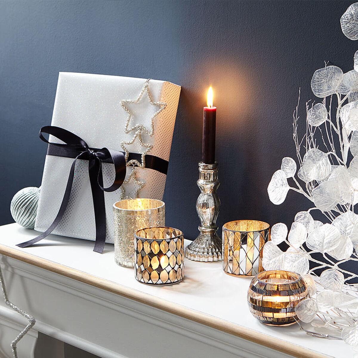 Weihnachtsdeko weihnachtsdekoration kaufen butlers - Weihnachtstischdeko silber ...