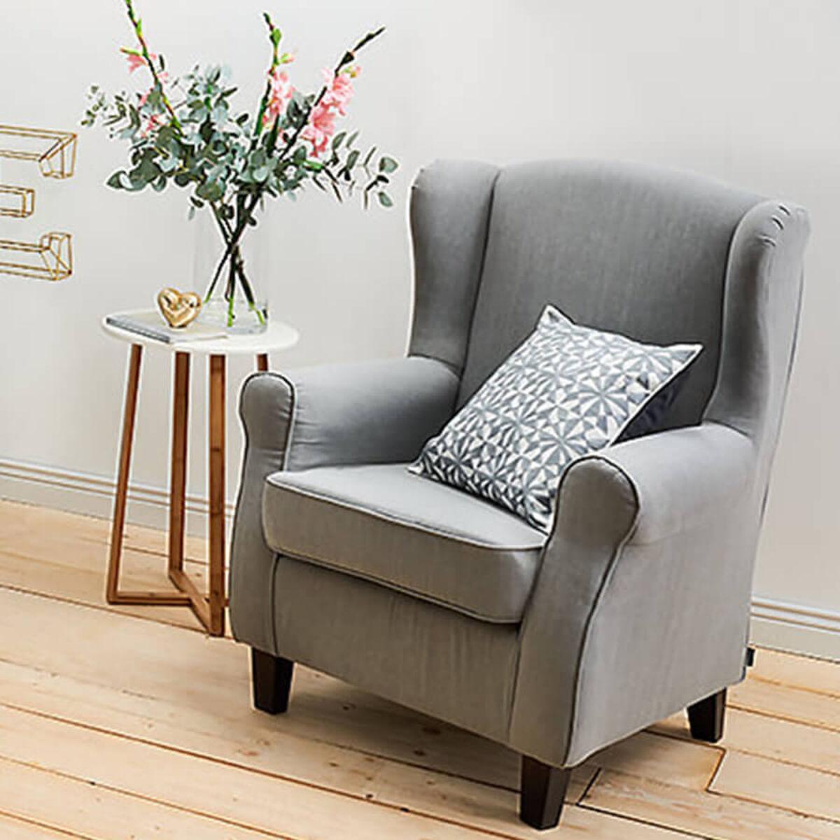sessel polster leder sessel kaufen butlers. Black Bedroom Furniture Sets. Home Design Ideas
