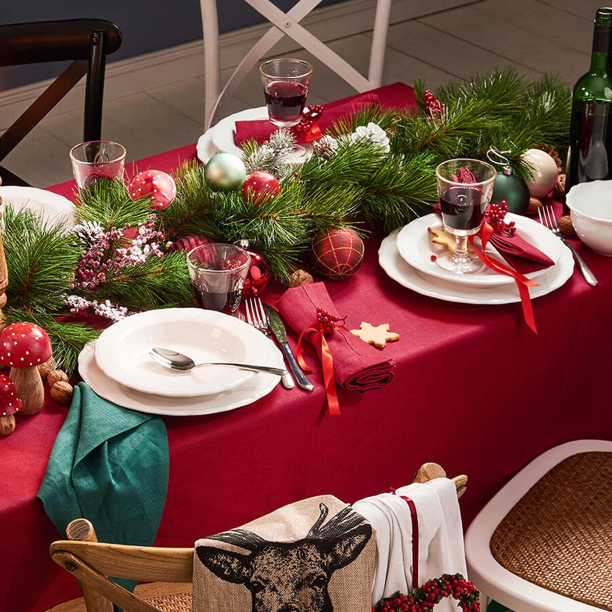 weihnachtstisch decken butlers. Black Bedroom Furniture Sets. Home Design Ideas