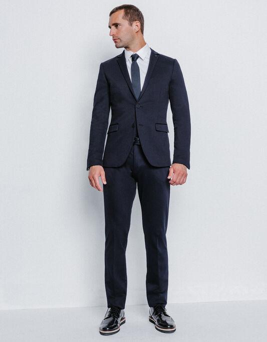 Costume homme slim bleu marine