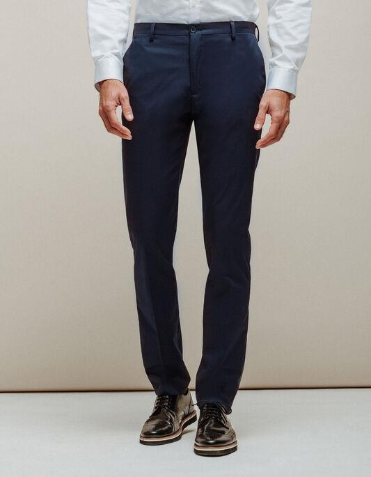 Pantalon costume homme matière technique