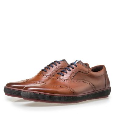 Floris van Bommel heren brogue veterschoen