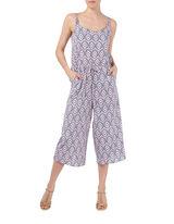 Damen Jumpsuit mit Ethno-Muster